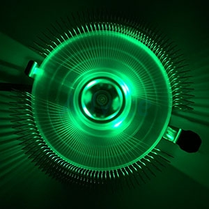 CPU COOLER GVIEW A4-12 (Green Led)