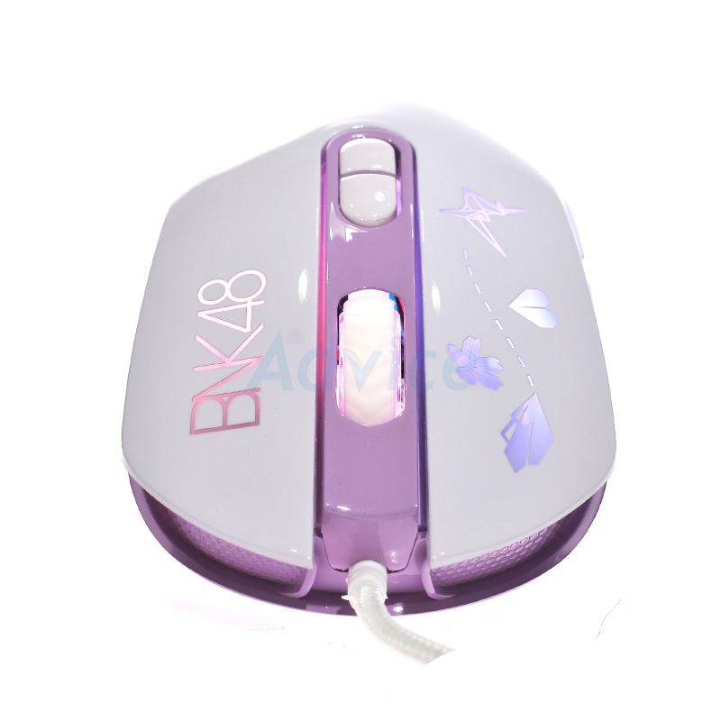 OPTICAL MOUSE NEOLUTION E-SPORT X BNK48 (Purple)