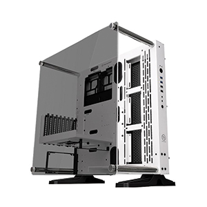 ATX Case (NP) ThermalTake Core P3 TG Snow Edition