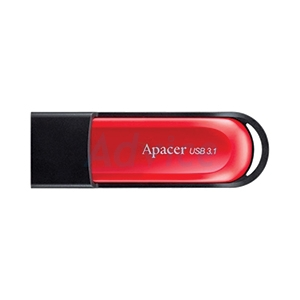 32GB 'Apacer' (AH25A)'USB3.1' Red/Black