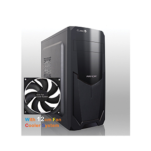 ATX Case (NP) CUBIC Armor Plus (Black)