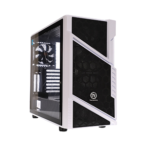 ATX Case (NP) ThermalTake Commander C31 TG Snow ARGB