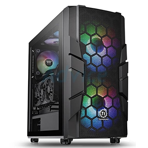 ATX Case (NP) ThermalTake Commander C33 TG ARGB (Black)