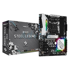 (AM4) ASROCK B450 STEEL LEGEND