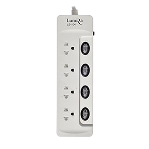 Power Bar Lumira LS-104 (5M) White