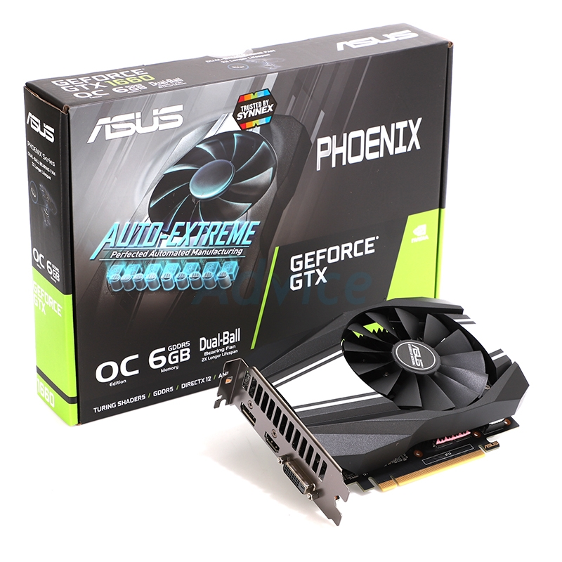 6GB GDDR5 GTX1660 ASUS PH OC
