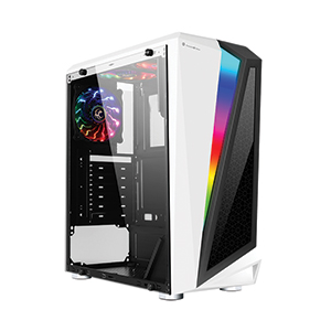 ATX Case (NP) TSUNAMI Galaxy G10 Phantom (White)