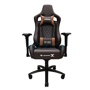 CHAIR NUBWO NBCH-X102 (Black/Brown)