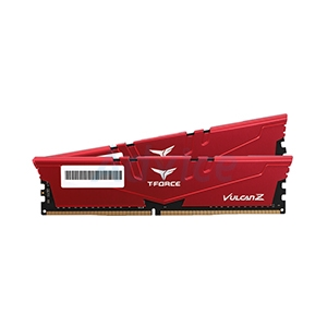 RAM DDR4(2666) 16GB (8GBX2)TEAM Vulcan Z Red
