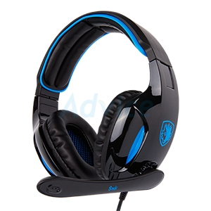 HEADSET (7.1) SADES SNUK (BLACK)