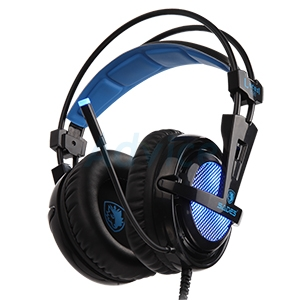 HEADSET (7.1) SADES Locust Plus (Black)
