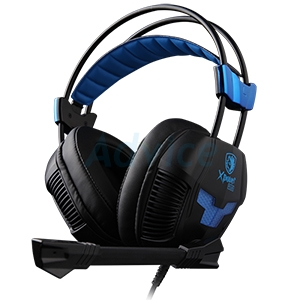 HEADSET (7.1) SADES X-Power Plus (Black)