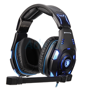 HEADSET (7.1) SADES KNIGHT PRO (BLACK)