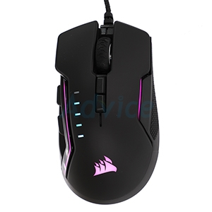 OPTICAL MOUSE CORSAIR Glaive Pro RGB (Black)