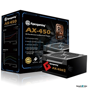 PSU (80+ Bronze) Apexgaming AX 450w