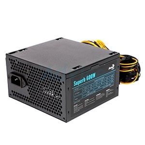 PSU (FULL) AEROCOOL SUPERB 600W.