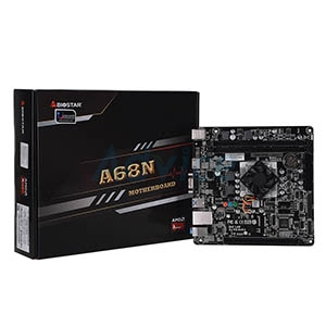 BIOSTAR A68N-5600E + CPU AMD A4-3350B (QUAD-CORE2.0)