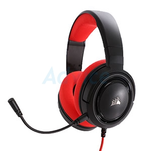 HEADSET (2.1) CORSAIR HS35 (RED)