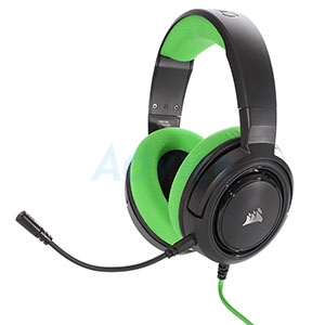HEADSET (2.1) CORSAIR HS35 (GREEN)