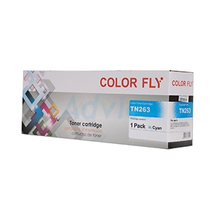 Toner-Re BROTHER TN-263 C - Color Fly