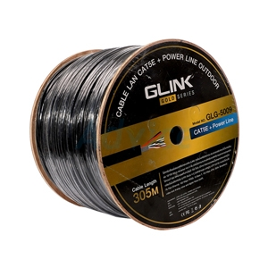 CAT5e UTP Cable (305m./Box) GLINK Outdoor Power Wire (GLG-5009)