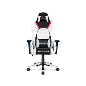 CHAIR AKRACING MASTERS SERIES PREMIUM ARCTICA (SILVER)