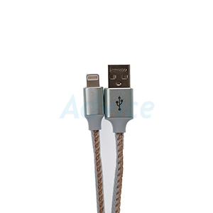 Cable USB To Lightning (1.2M,AL14-1200) 'PISEN' Light Blue