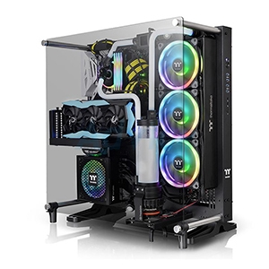 ATX Case (NP) Thermaltake Core P5 V2 Black Edition