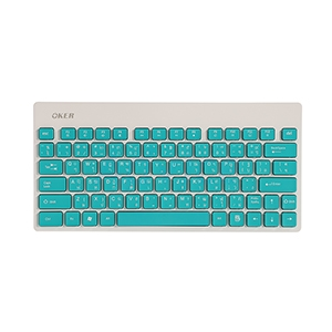 USB Wireless Keyboard OKER (G1500) Green