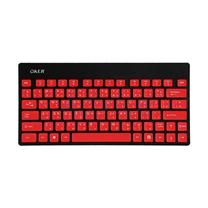 USB Wireless Keyboard OKER (G1500) Red