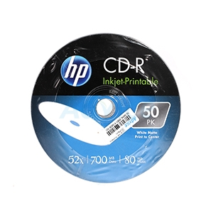 CD-R 'HP' Printable (50/Pack)