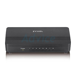 Gigabit Switching Hub ZyXEL (GS-108S V2) 8 Port (6