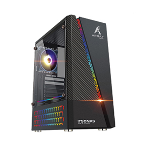 ATX Case (NP) ITSONAS Array RGB TG (Black)
