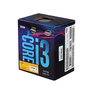 CPU INTEL CORE I3 - 9100 LGA 1151V2 (ORIGINAL)