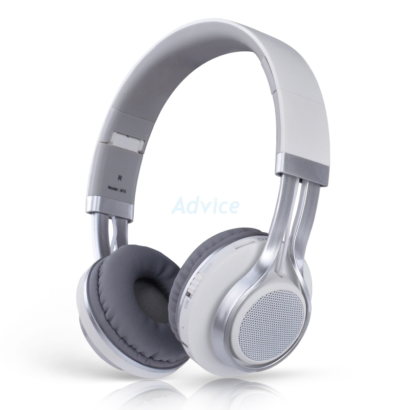 HeadSet MD TECH BT5 (White)