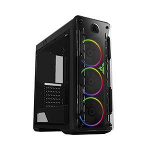 ATX Case (NP) GVIEW I5-40 RGB (Black)