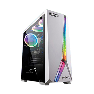 ATX Case (NP) ITSONAS Tower RGB TG (White)