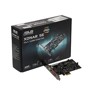Sound card Asus Xonar SE