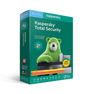 Kaspersky Total Security (3Desktop)