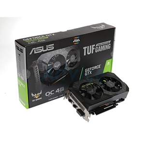 4GB GDDR6 GTX1650 SUPER ASUS TUF O4G GAMING