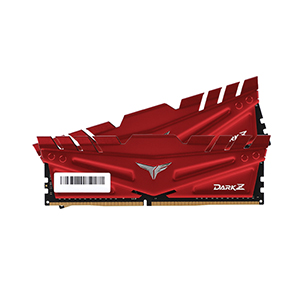 RAM DDR4(3200) 16GB (8GBX2) TEAM Dark Z Red