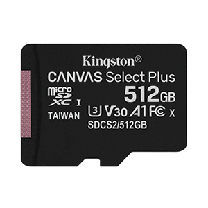 Micro SD 512GB Kingston SDCS2 (100MB/s.)
