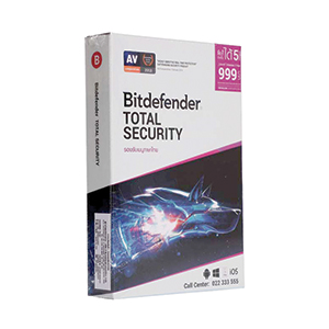 Bitdefender Total Security  (5Devices)
