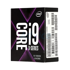 CPU INTEL CORE I9 - 10920X LGA 2066 (ORIGINAL) NO CPU COOLER
