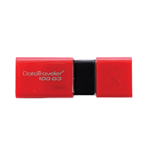 16GB 'Kingston' (DT100G3) Excusive 'USB 3.0'