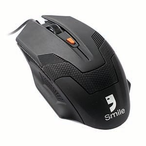 USB Optical Mouse SMILE (M5135) Black