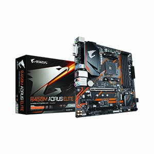 (AM4) GIGABYTE B450M AORUS ELITE (REV1.0)