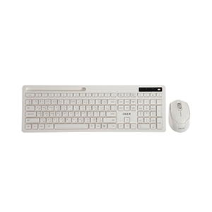 (2in1) Wireless OKER (K7800) White