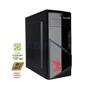 ATX Case (NP) CUBIC Hornets (Black/Red)