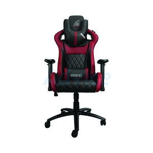 CHAIR SIGNO GC-206BR  BRAXTON (BLACK/RED)